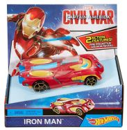 Hot Wheels Marvel Captain America Civil War Deluxe Vehicle - Iron Man
